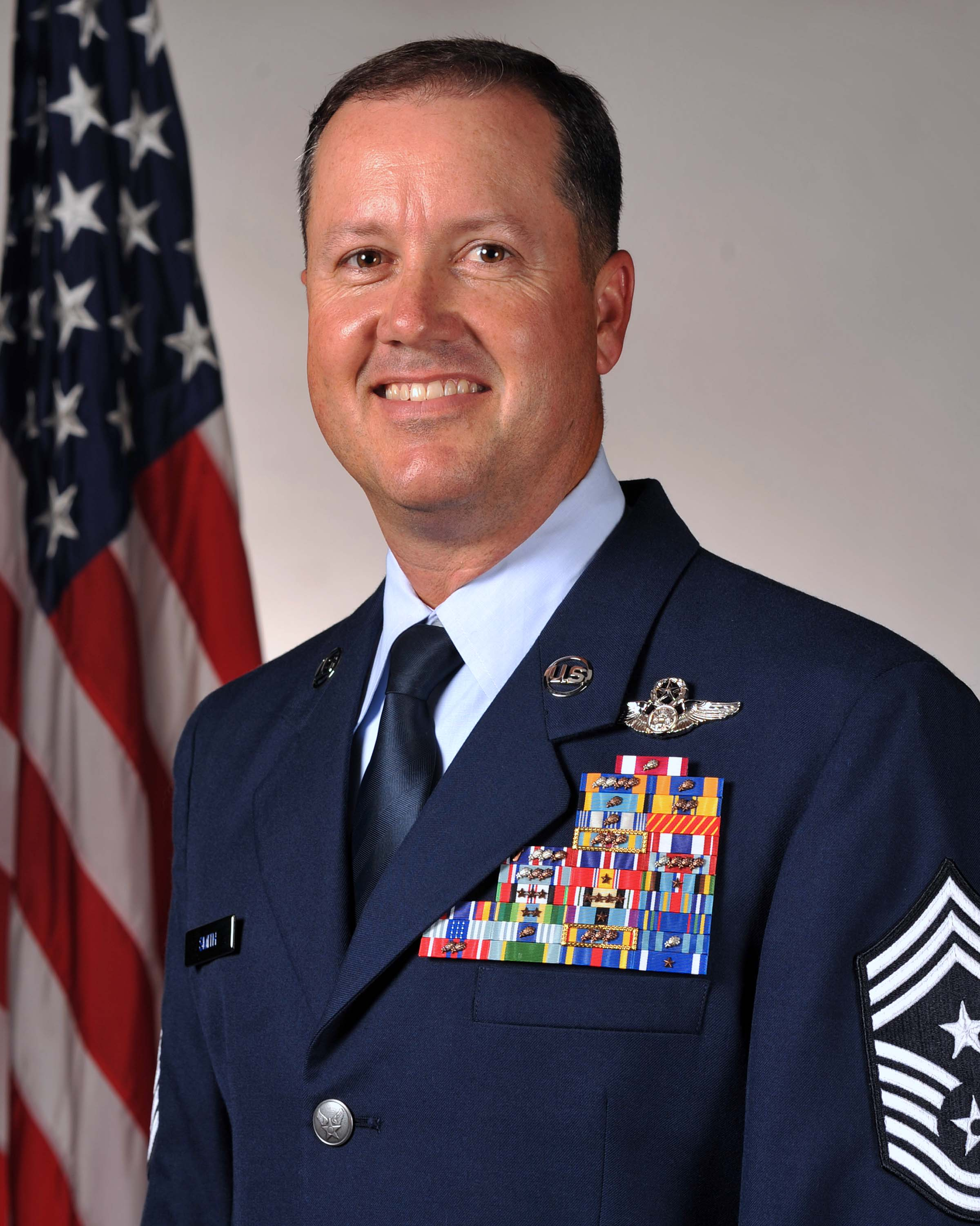 Bio Picture of CMSgt Trevor Smith