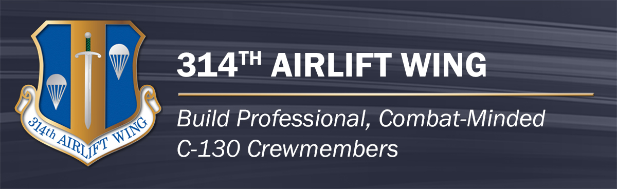 314th AW Page Banner