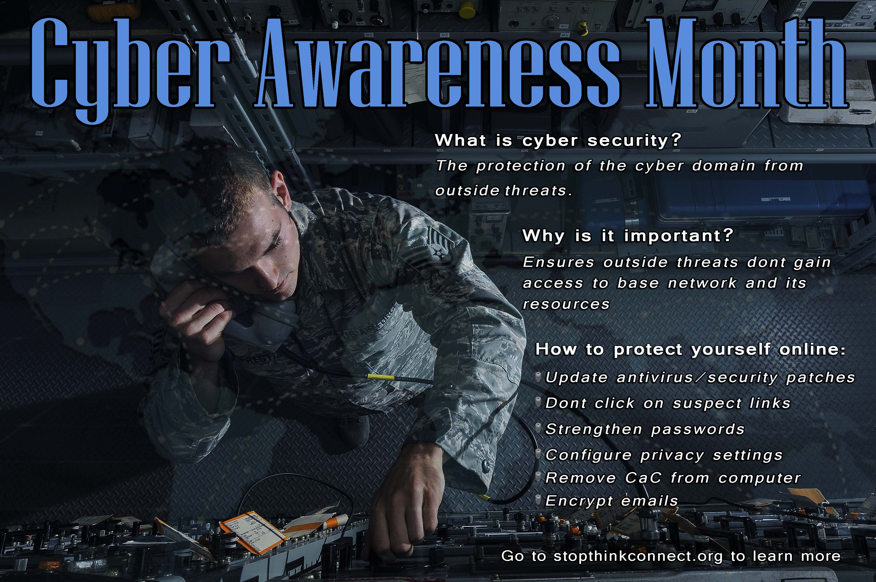 October is Cybersecurity Awareness Month!