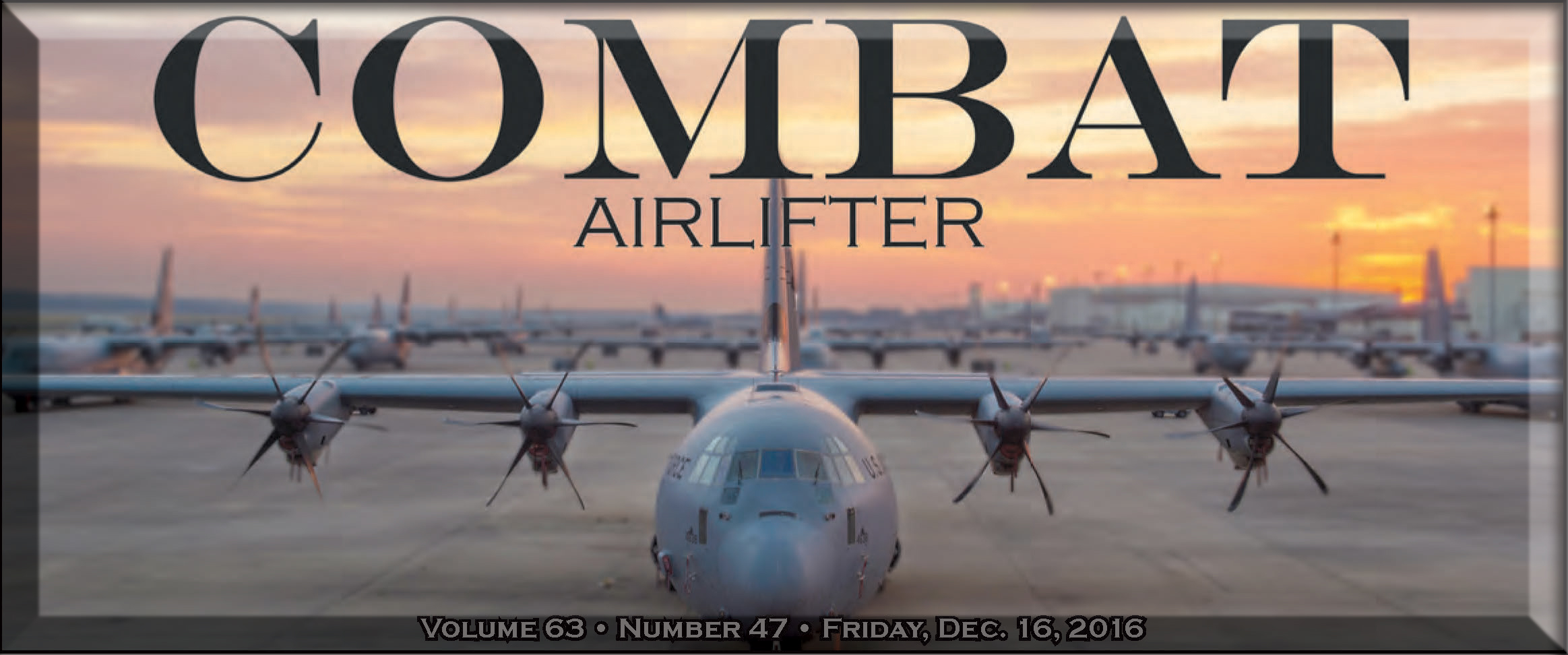 Weekly Combat Airlifter the newspaper for Little Rock Air Force Base