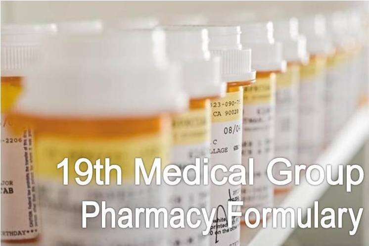 Pharmacy Formulary